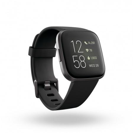 Fitbit Versa 2 (NFC) - Black/Carbon