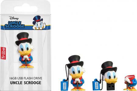 Tribe Disney Uncle Scrooge USB Flash Drive 16GB