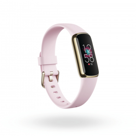 Fitbit Luxe Special Edition Gorjana w Jewellery Band - Soft Gold/Peony