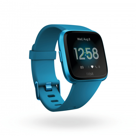 Fitbit Versa Lite - Marina Blue/Marina Blue Aluminum