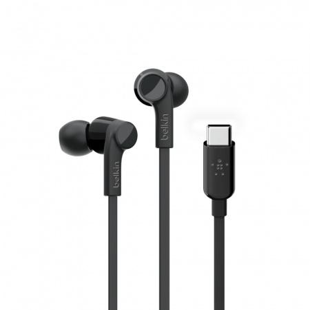 Belkin Earphones ROCKSTARª w USB-C - Black