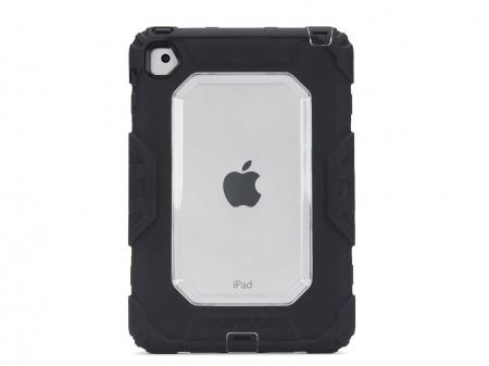 Griffin Survivor iPad mini 4 All-Terrain Rugged Case - Black/Clear