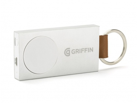 Griffin Travel Battery Pack Apple Watches 38mm and 42mm - Aluminum