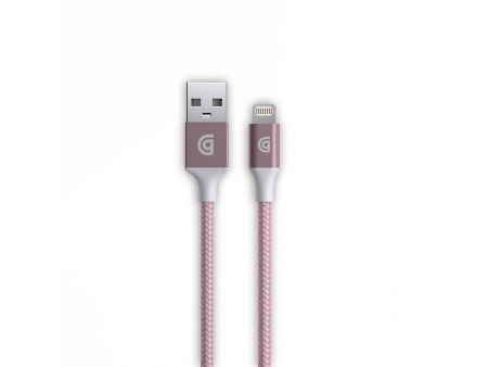 Griffin USB to Lightning Cable Premium 10ft - Rose Gold