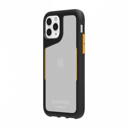 Griffin Survivor Endurance for iPhone 11 Pro - Black/Citrus/Clear