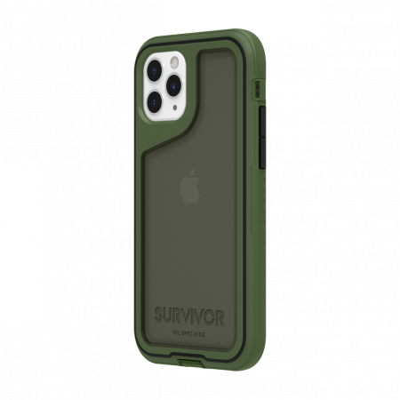 Griffin Survivor Extreme for iPhone 11 Pro - Bronze Green/Black/Smoke