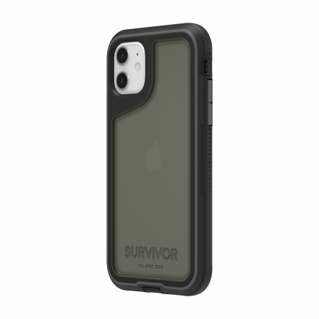 Griffin Survivor Extreme for iPhone 11 - Black/Gray/Smoke