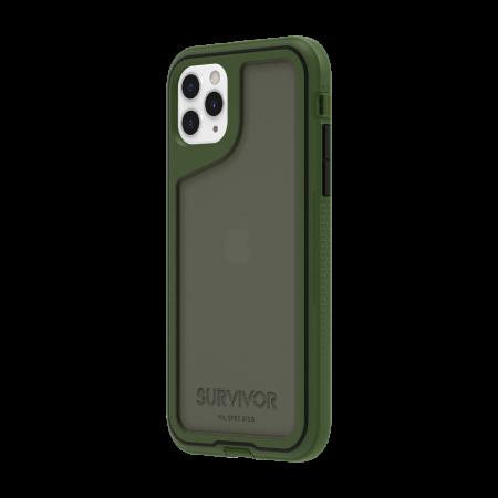 Griffin Survivor Extreme for iPhone 11 Pro Max - Bronze Green/Black/Smoke