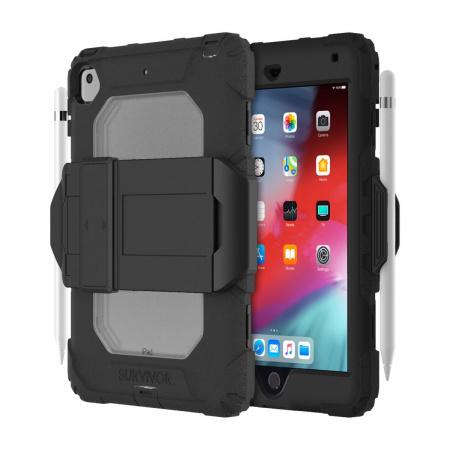Griffin Survivor All-Terrain (w/ kickstand) for iPad mini 4,5 - Black/Clear