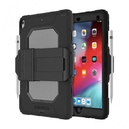 Griffin Survivor All-Terrain (w/ kickstand) for iPad Air (2019) & iPad Pro 10.5 - Black/Clear
