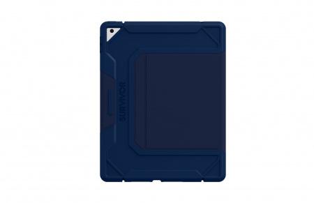 Griffin Survivor  Rugged Folio for iPad 10.2 (8th & 7th Generation) - Dark Blue