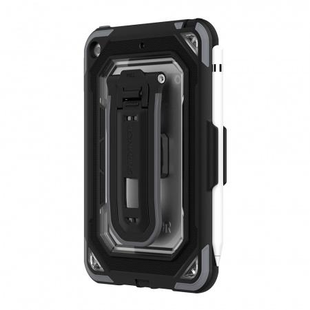 Griffin Survivor All-Terrain for iPad Mini - Black/Gray/Clear (B2B) Anitmicrobial Version
