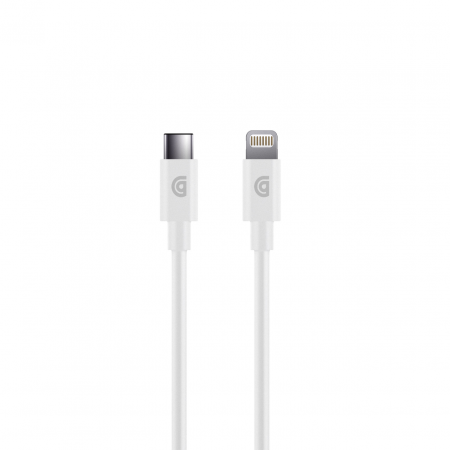 Griffin USB-C to Lightning Cable - 4FT - White