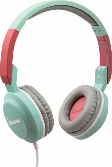 Tribe Vespa Pop Headphones - Acquamarine