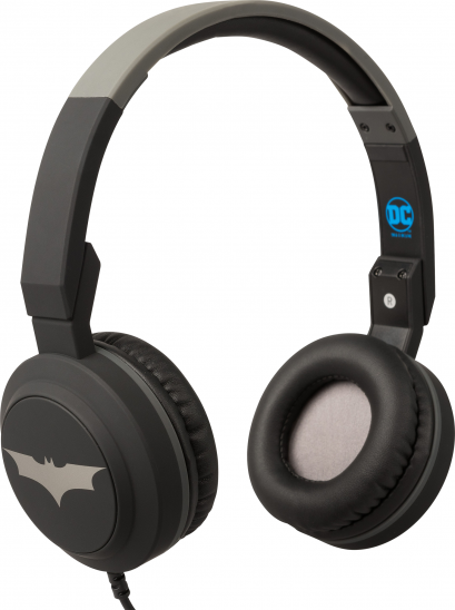 Tribe DC Movie Batman Pop Headphones - Black