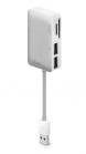 iLuv čtečka karet USB Hub - bílá