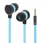 iLuv Neon Sound High Performance Stereo in-Ear Earphones - Blue