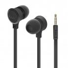 iLuv Neon Sound High Performance Stereo in-Ear Earphones - Black