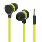iLuv Neon Sound High Performance Stereo in-Ear Earphones - Neon Green