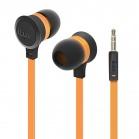 iLuv Neon Sound High Performance Stereo in-Ear Earphones - Orange