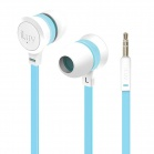 iLuv Neon Sound High Performance Stereo in-Ear Earphones - White/Blue