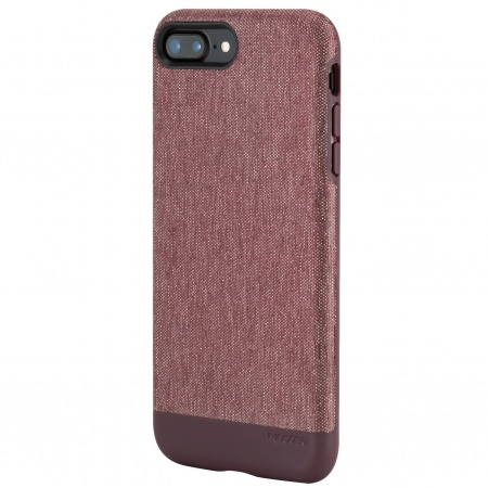 d1ea59151 Incase Textured Snap for iPhone 7 Plus - Heather Deep Red