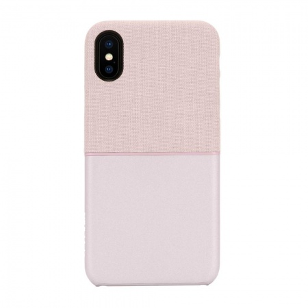 Incase Textured Snap for iPhone X/XS - Rose Gold