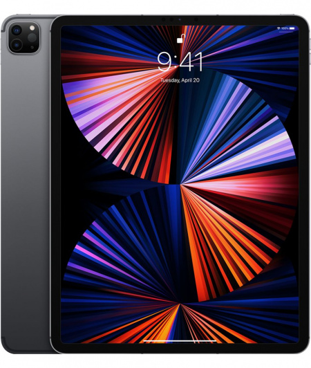 Apple 12.9-inch iPad Pro (5th) Wi_Fi + Cellular 128GB - Space Grey