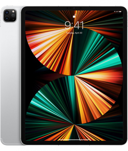 Apple 12.9-inch iPad Pro (5th) Wi_Fi + Cellular 128GB - Silver