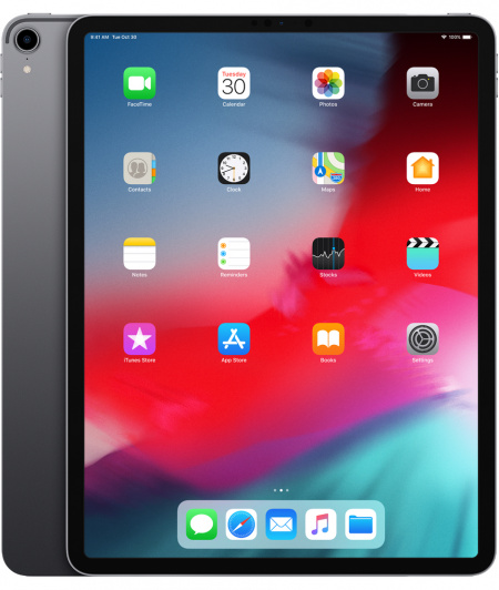 Apple 12.9-inch iPad Pro Cellular 256GB - Space Grey