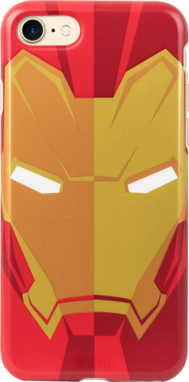 Tribe Marvel Iron Man Case for iPhone 6/6s/7 - Red