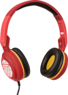Tribe Marvel Iron Man Headphones - Red
