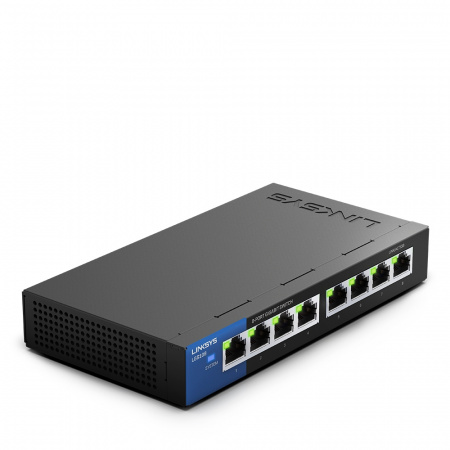 Linksys LGS108 8-Port Business Desktop Gigabit Switch