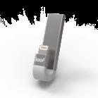 Leef iBridge 3 Bílá 64GB - Stříbrná