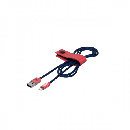 Tribe Marvel Spiderman Lightning Cable (120 cm) - Blue