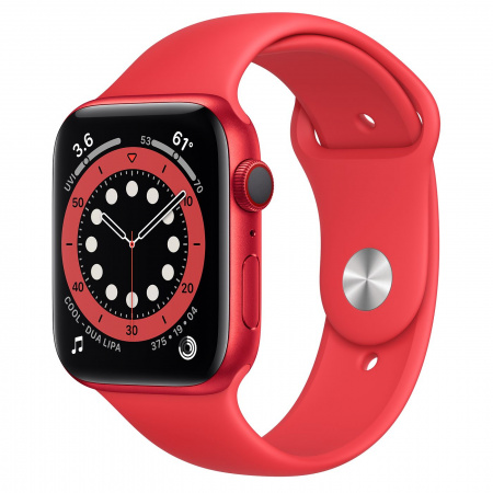 Apple Watch S6 GPS + Cellular, 44mm PRODUCT(RED) Aluminium Case with PRODUCT(RED) Sport Band - Regular