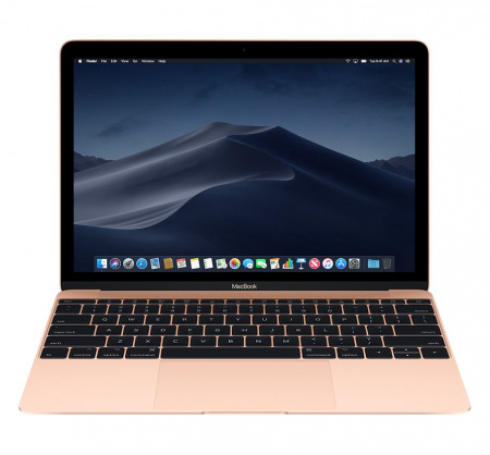 "MacBook 12"" Retina/DC M3 1.2GHz/8GB/256GB/Intel HD G 615 - Gold - CRO KB"