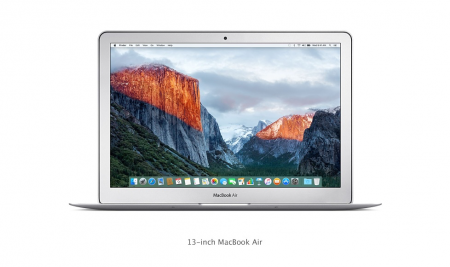 "MacBook Air 13"" i5 DC 1.8GHz/8GB/128GB SSD/Intel HD Graphics 6000 INT KB"