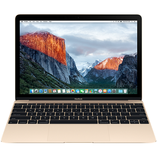"MacBook 12"" Retina/DC i5 1.3GHz/8GB/512GB/Intel HD Graphics 615/Gold - INT KB"