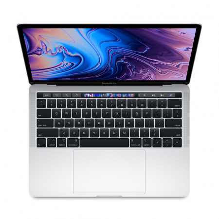"""MacBook Pro 13"""" Touch Bar/QC i5 2.3GHz/8GB/512GB SSD/Intel Iris Plus Graphics 655/Silver - INT KB"""