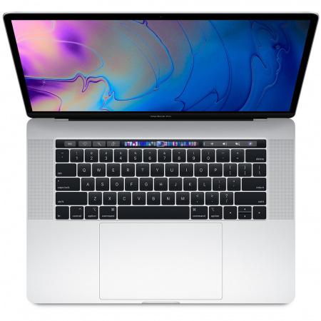 """MacBook Pro 15"""" Touch Bar/6-core i7 2.6GHz/16GB/256GB SSD/Radeon Pro 555X w 4GB/Silver - INT KB"""