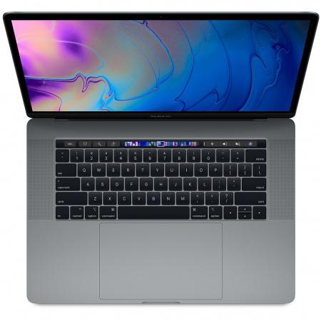 "MacBook Pro 15"" Touch Bar/6-core i7 2.6GHz/16GB/256GB SSD/Radeon Pro 555X w 4GB/Space Grey - INT KB"