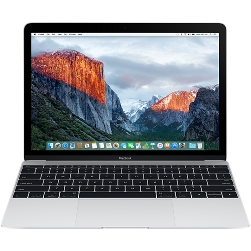 "MacBook 12"" Retina/DC M3 1.2GHz/8GB/256GB/Intel HD Graphics 615/Silver - INT KB"