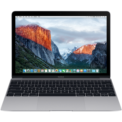 "MacBook 12"" Retina/DC M3 1.2GHz/8GB/256GB/Intel HD Graphics 615/Space Grey - INT KB"