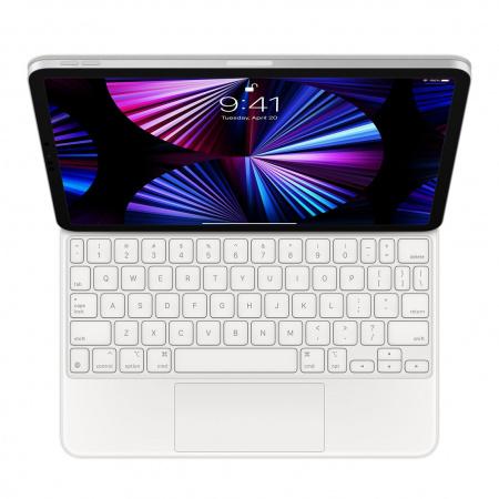 Apple Magic Keyboard for iPad Pro 11-inch (3rd) and iPad Air (4th) - Spanish - White