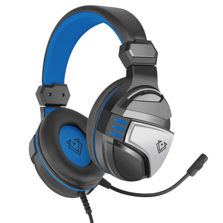 Vertux Gaming Malaga Amplified Stereo Wired Gaming Headset - Blue