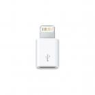 Adaptér s konektorem mikro USB a konektorem Lightning