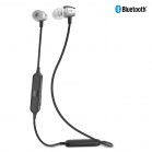 iLuv Metal Forge2 Magnetic Wireless Bluetooth Earphones - Silver