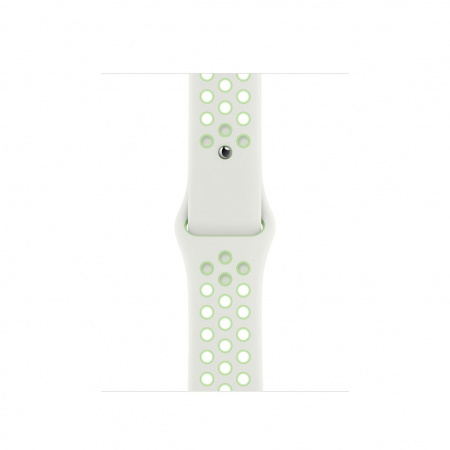 Apple Watch 40mm Nike Band: Spruce Aura/Vapor Green Nike Sport Band - Regular (Seasonal Fall 2020)