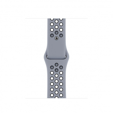 Apple Watch 40mm Nike Band: Obsidian Mist/Black Nike Sport Band _ Regular (Seasonal Fall 2020)